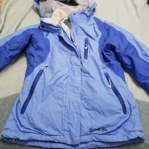 dare2be European Ski Jacket Lined SZ UK 8 US XS